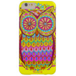 Colourful Owl iPhone 6 Plus Case Barely There iPhone 6 Plus Case