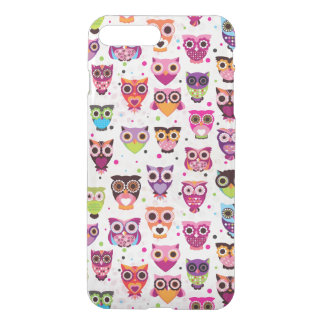 Colourful Owl Pattern For Kids 2 iPhone 7 Plus Case