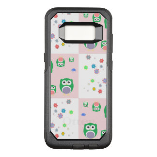 Colourful Owl Pattern For Kids OtterBox Commuter Samsung Galaxy S8 Case