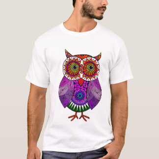 Colourful Owl T-Shirt