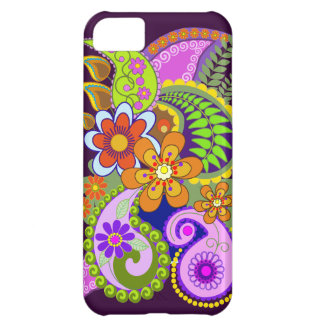 Colourful Paisley Patterns and Flowers iPhone 5C Case