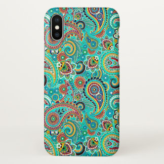 Colourful Paisley Seamless Pattern Case