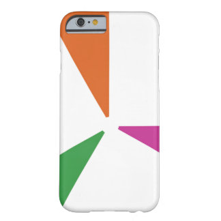 Colourful Pattern 3 Colours Barely There iPhone 6 Case