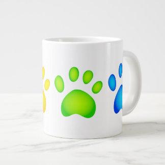 Colourful Paws Jumbo Mug
