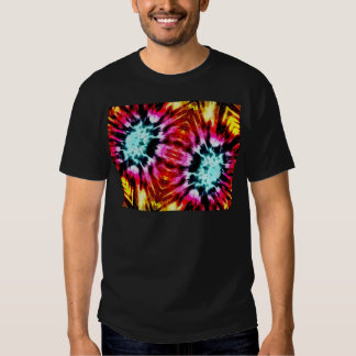 Colourful Poinsettia Abstract T Shirt