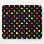 Colourful Polka Dot Mousepad