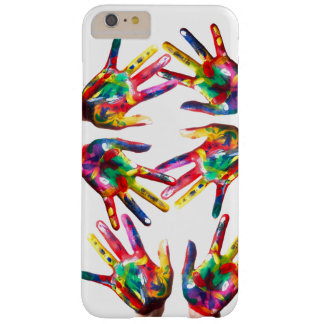 Colourful printed hands iPhone / iPad case