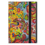 Colourful Psychedelic iPad Mini Case with