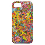 Colourful Psychedelic iPhone 5 Barely There Case Case For The iPhone 5
