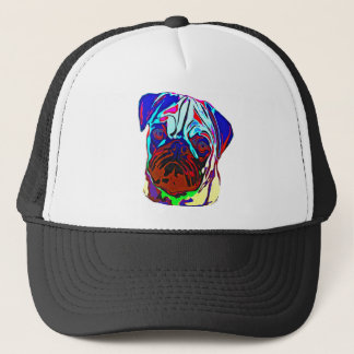Colourful Pug Trucker Hat