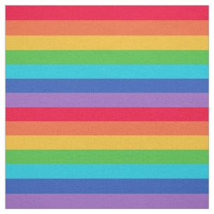 Colourful Rainbow Colour Flag Gay Pride Fabric