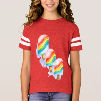 Colourful Rainbow Surprise Popsicle T-Shirt