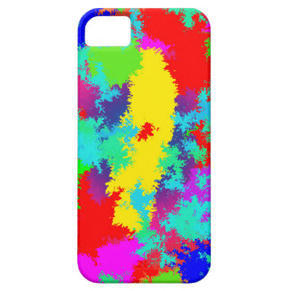 Colourful Random Trippy Pattern iPhone 5 Cover