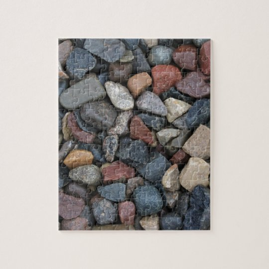 Colourful River Rock Jigsaw Puzzle