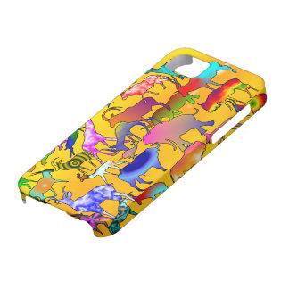 Colourful Safari Iphone case