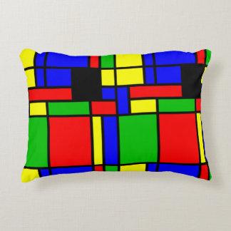 Colourful samples decorative cushion