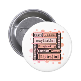 Colourful Scrapbooking Buttons