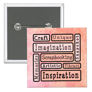 Colourful Scrapbooking Pins