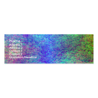Colourful Sea Bed III Pack Of Skinny Business Cards