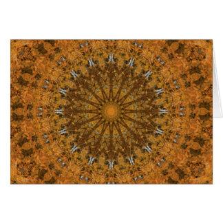 Colourful Seasons: Autumn Mandala Card