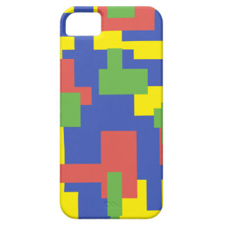 Colourful shapes phone cover