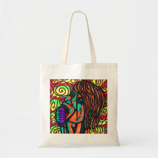 Colourful Singer Tote