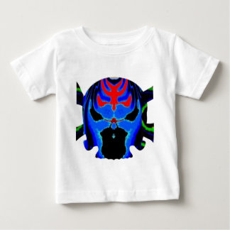 Colourful Skulls gHOSTS Halloween Collection Baby T-Shirt