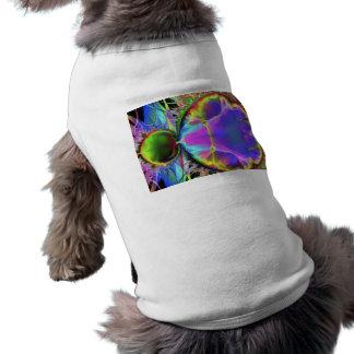 colourful sleeveless dog shirt