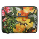 Colourful Snapdragons Sleeves For MacBooks