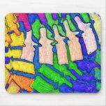 Colourful Spine Art Mousepad