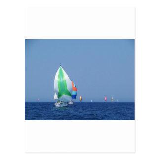 Colourful Spinnakers Postcard