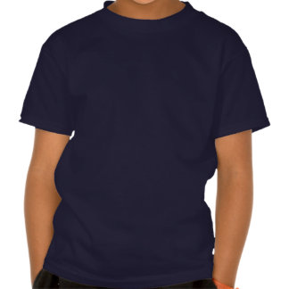 Colourful Splash Happy Cartoon Whale Dark Kids Tshirts
