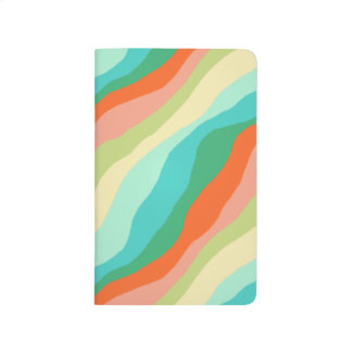 Colourful Spring Abstract Pattern Journal