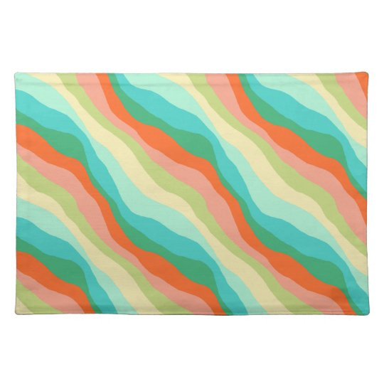 Colourful Spring Abstract Pattern Placemat