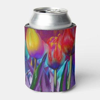 Colourful Spring Can Cooler