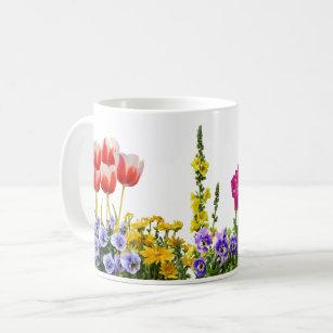 Colourful Springtime Garden Mug