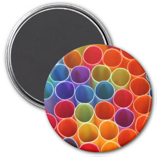 Colourful Straws Magnet