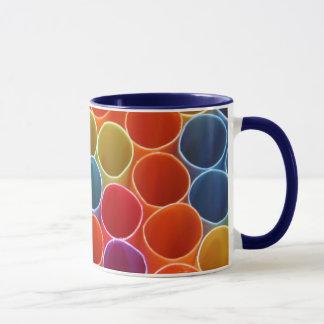 Colourful Straws Mug