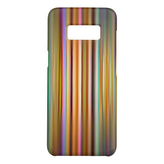 Colourful stripes and blur pattern Case-Mate samsung galaxy s8 case