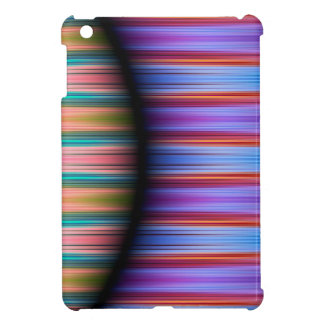 Colourful stripes pattern iPad mini case