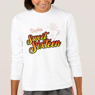 Colourful Sweet Sixteen T-Shirt
