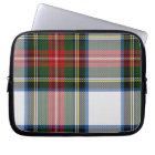 Colourful Tartan Plaid Laptop Cover