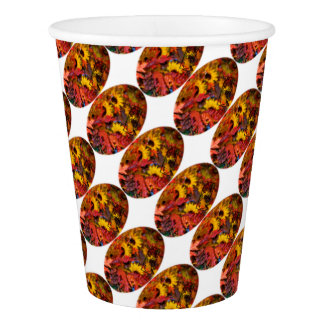 Colourful Thanksgiving Paper Cup
