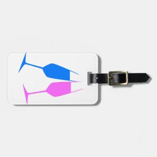 Colourful Toast Luggage Tag