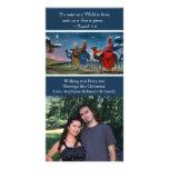 Colourful Travelers Photo Christian Christmas Photo Card Template