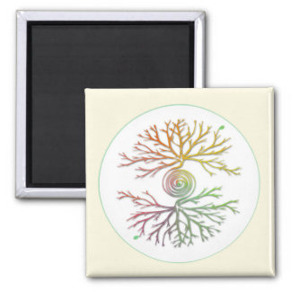 Colourful Tree of Life Balance Magnet