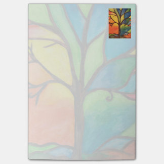 Colourful Tree Post It Note Pads