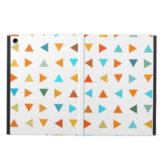 Colourful Triangles iPad Air Covers
