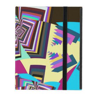 Colourful Tribal Pattern iPad Folio Case