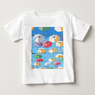 Colourful Umbrellas Baby T-Shirt